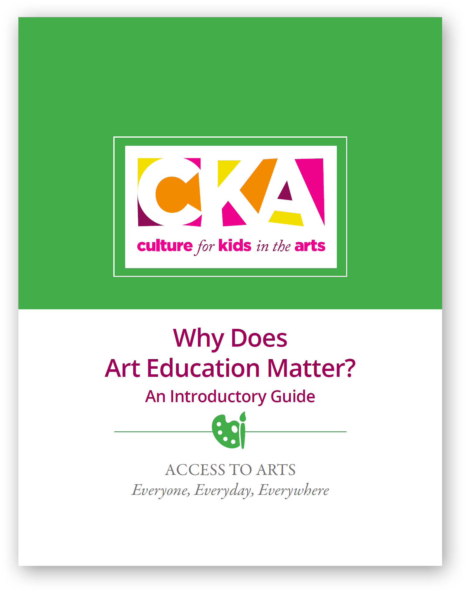Why Does Art Education Matter?
