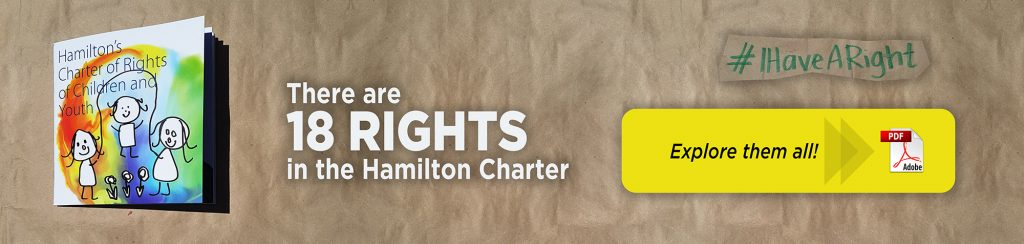 18 Rights in the Hamilton Charter